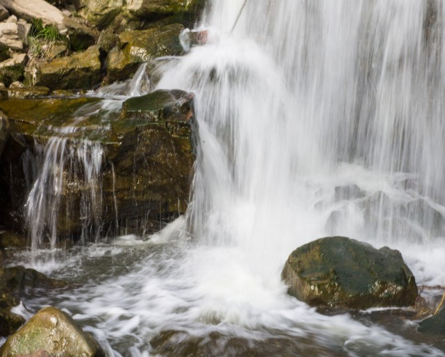 Falls at Pipestone National Monument