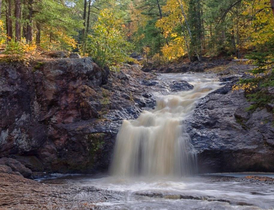upper falls amnicon